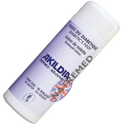 Akildia Diabetic Footwash Lotion