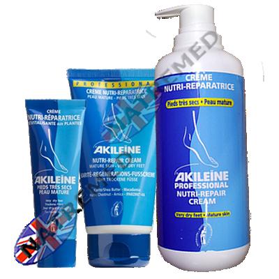 Akileine Blue range, Dry Foot Creme
