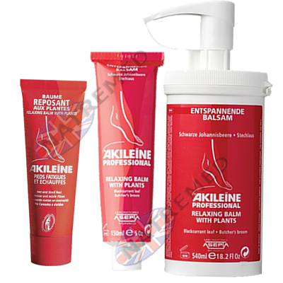 Akileine Red range, Relaxing Creme