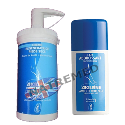 Akileine Blue range, Leg and Feet Softening Lotion