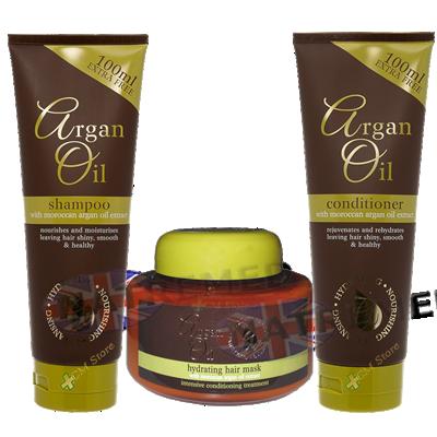 Argan Oil Hair Care Pack 3