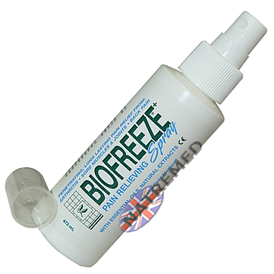 Biofreeze Spray. Pain relief that works