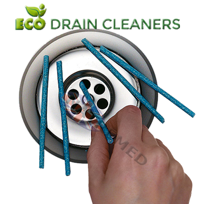 BioSticks: Biodegradable Non Chemical General Drain Cleaner