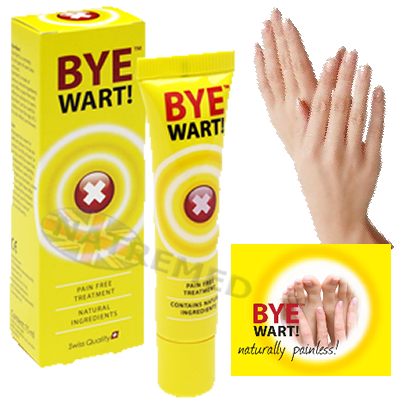 Bye Wart. Remove Warts Naturally