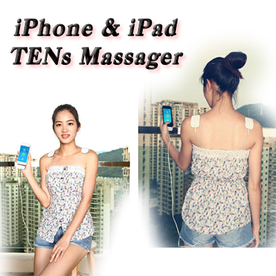 iPhone and iPad TENs portable massager