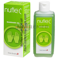 NUFLEX massage contains a combination of different ethereal oils