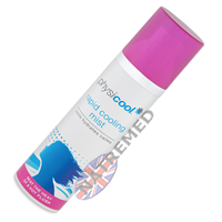 Physicool Rapid Cooling Mist offers instant, long-lasting relief from the discomfort of a hot flush or night sweats