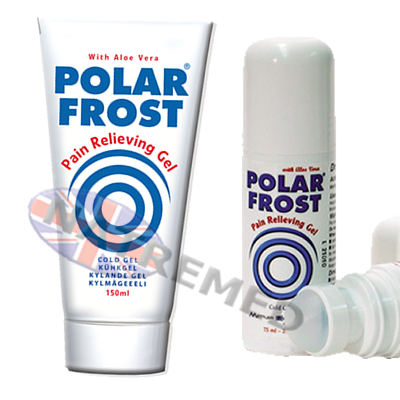 polarfrost Roll-On and Gel. Pain relief that works