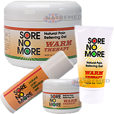 ore No More Warm 100% Natural Pain reliever Gel