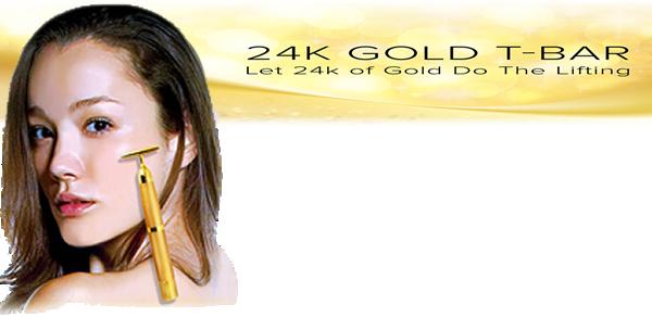 Gold bar massager